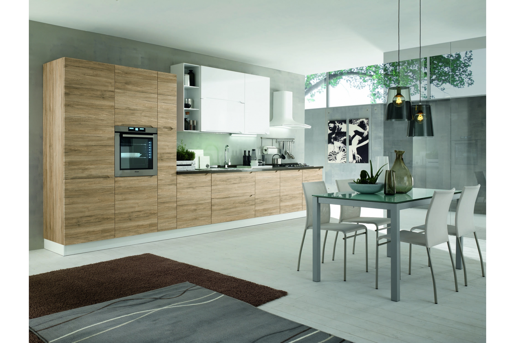 Beautiful nuovo arredo cucine contemporary for Magri arredo